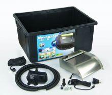 Ubbink Waterval Nevada LED 30 cm set inclusief  pomp Xtra 2300, Quadra 1 en accessoires