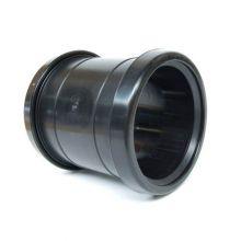 PP Sok 110 mm 2 x manchet zwart