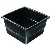 Heissner vierkante Vijverbak 79 x 79 x 45 cm hoog zwart