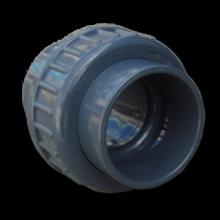 Pvc Koppeling 63 mm. (druk pvc-pe)