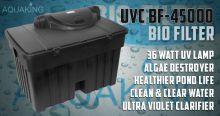 AquaKing BF-45000 vijverfilter met 36 Watt uvc