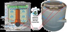 AquaForte Gravity Tricklefilter