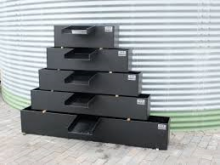 HDPE Plantenfilter  125 x 25 x 25 cm