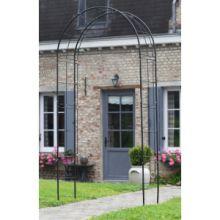 Rozenboog metaal Zwart 229 x 113 x 38 cm