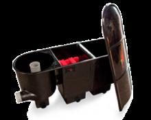 Sansai 2 kamerfilter met Vortex-filter (excl. filtermateriaal)