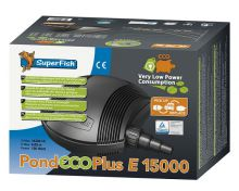 Superfish Vijverpomp Pond Eco Plus E 20.000 (slechts 150 watt)