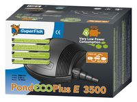 Superfish Vijverpomp Pond Eco Plus E  3500 (slechts 14 watt)