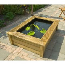 Ubbink Quadro 5 Houten Ombouw Wood 1 (119 x 90 x 33 cm)