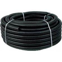 Zwarte spiraalslang 50 mm.